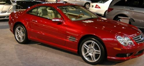 MERCEDES-BENZ SL 500 ROUGE