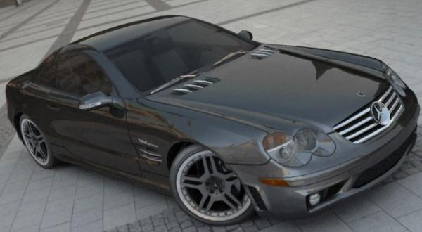 Mercedes Benz SL 65 AMG Twin Turbo V12