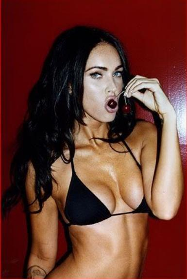 Hot picture, sexy star Megan Fox